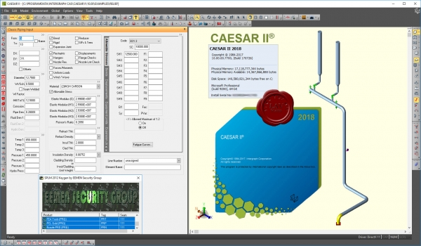 Intergraph CAESAR II 2018 v10.00.00.7700 build 170726