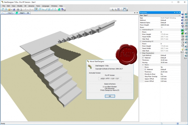Boole & Partners StairDesigner Pro v7.05a