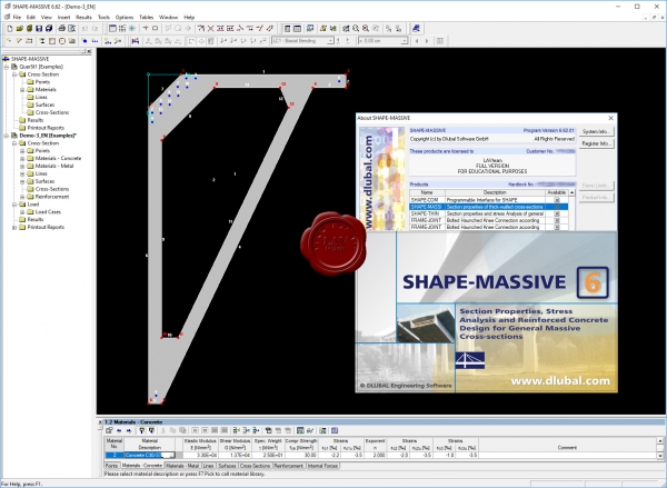 Dlubal SHAPE-MASSIVE v6.62.01