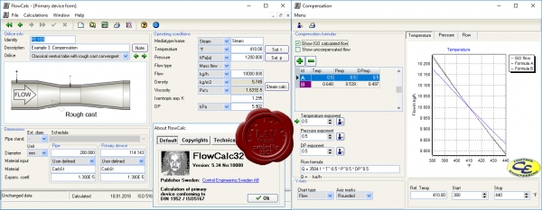 Control Engineering FlowCalc v5.34