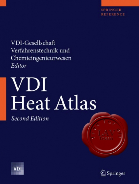 VDI Heat Atlas, Second Edition