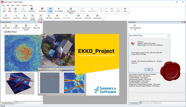 Sensors & Software EKKO_Project V5 R2 build 7516