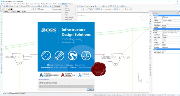 CGSLabs 2017 build 2061 for BricsCAD x64