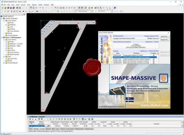 Dlubal SHAPE-MASSIVE v6.64.01