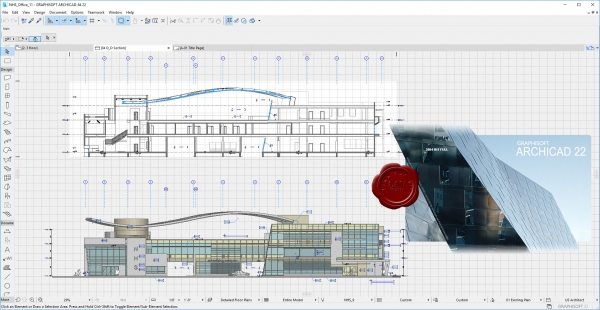 Graphisoft Archicad v22 build 3004 INT