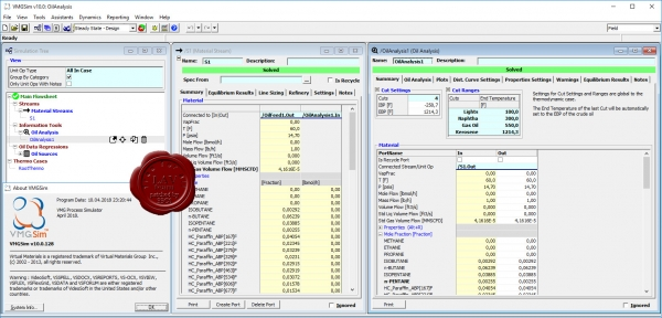 Schlumberger VMGSim v10.0 build 04.2018