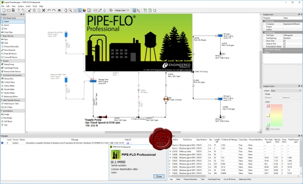 Engineered Software PIPE-FLO Pro 2018 v16.1.44900