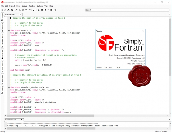 Approximatrix Simply Fortran v3.2.2976