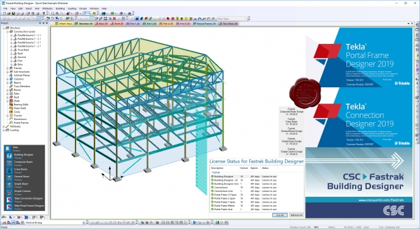 Trimble Tekla Portal Frame & Connection Designer 2019 v19.0.0