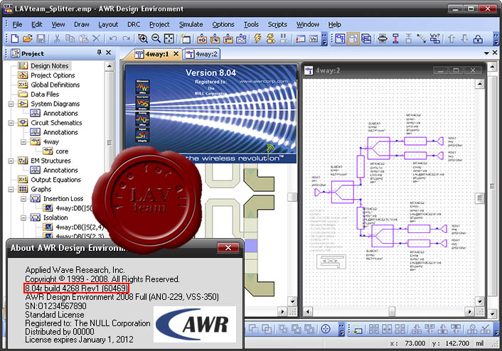 AWR Design Environment 2008 v8.04.4268.1 ISO
