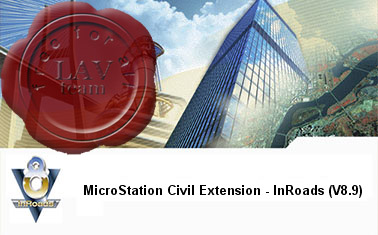 Bentley MicroStation Civil Extension for InRoads Group XM Edition v8.09.03.06
