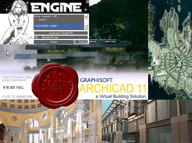 Graphisoft ArchiCAD v11.970 FINAL iso