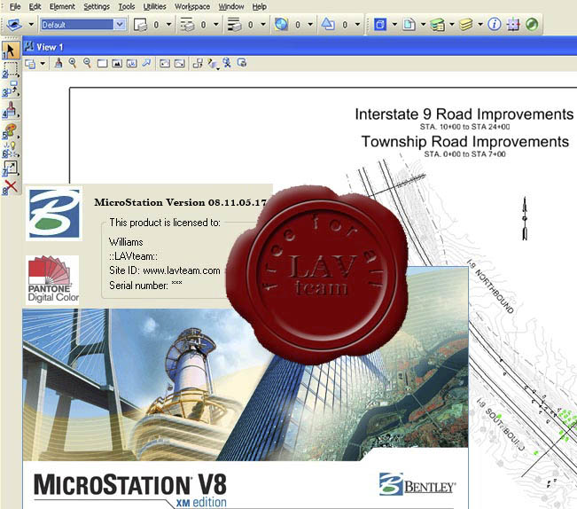 Bentley MicroStation V8i XM v08.11.05.17