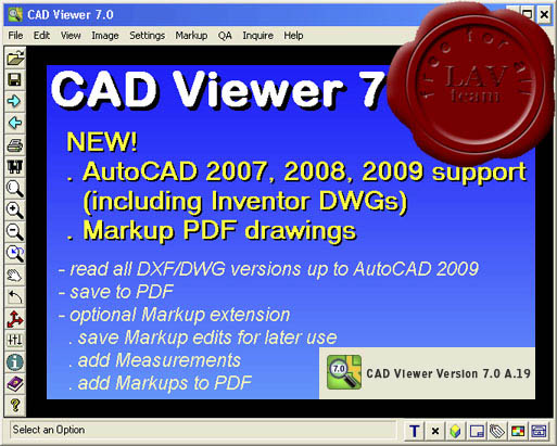 CAD Viewer v7.0.A.19 Network Edition