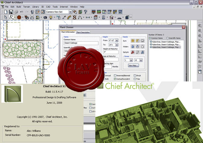 Chief Architect X1 v11.5.4.17