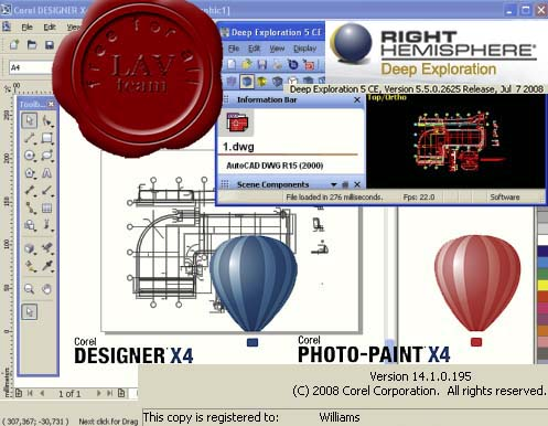 Corel DESIGNER Technical Suite X4 v14.1.0.195