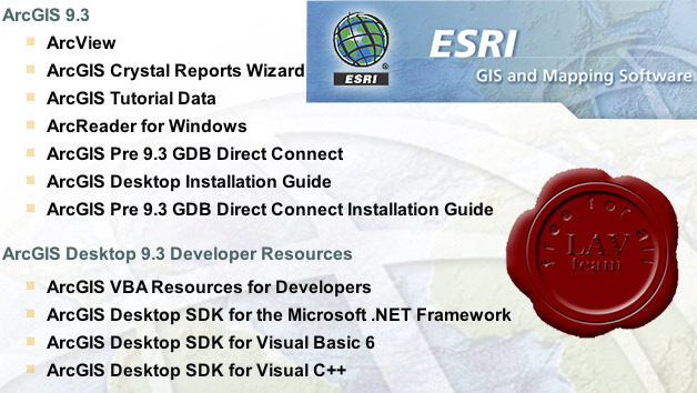 ]ESRI ArcGIS v9.3 sp1 Retail