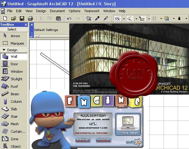 Graphisoft ArchiCAD v12.2156 INTERNATIONAL RIP