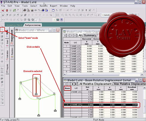Linking Tekla Structures with Analysis&Design software