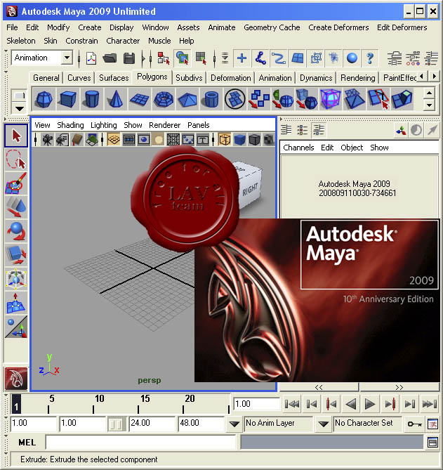 Autodesk Maya Unlimited v2009