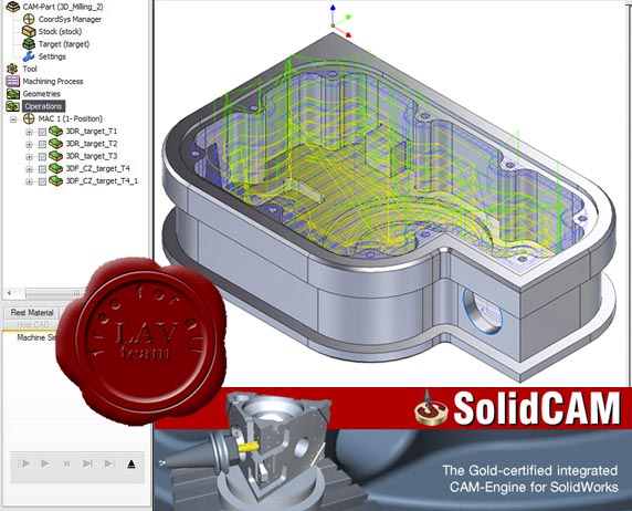 SolidCAM v2008 R12 sp2.1 ISO x86+x64