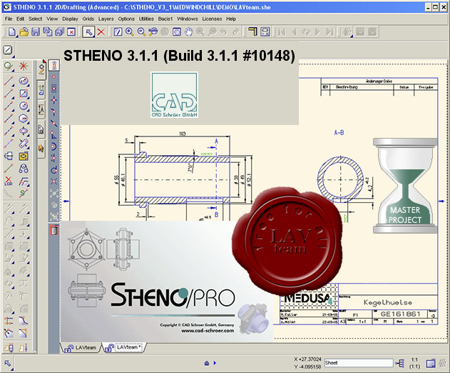CAD Schroer Stheno/PRO Advanced v3.1.1.10148