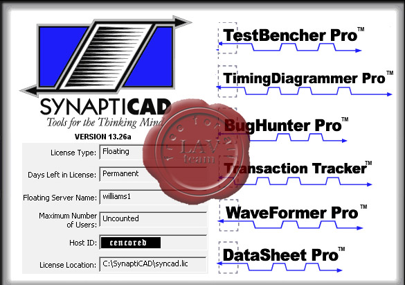 Simucad SynaptiCAD Product Suite v13.26a