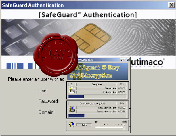 Utimaco SafeGuard Easy v4.50.3.19