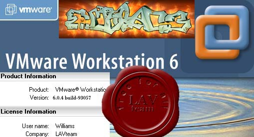 EMC VMware Workstation v6.0.4.93057