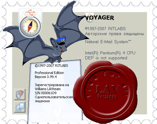 The Bat! Professional 3.99.3 + The Bat! Voyager 3.99.4 (mobile TheBat!) + russian spell checker